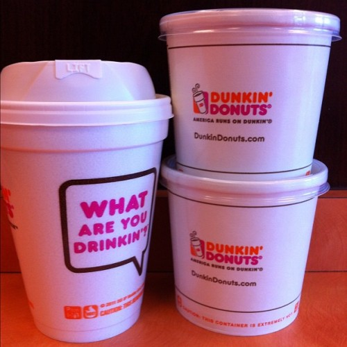 Getting my day started…#DD #dunkindonuts #iphoneonly #iphoto #igphoto #instabook #ignation #igers #ig #iger #instaaddict #goodmorning #coffee #breakfast  (Taken with instagram)