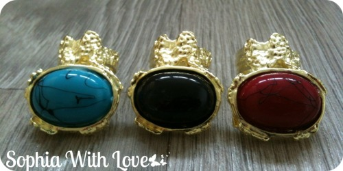 NEW YSL Inspired Knuckle Rings From 'Sophia With Love' ❤