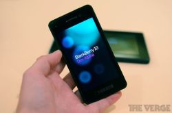 "thisistheverge:  BlackBerry 10 Dev Alpha developer testing device hands-on photos and impressions RIM may finally be ready to begin showing BlackBerry 10 to users, but right now the company has another priority: getting developers on board with the new platform. To that end, it's giving every developer at the BlackBerry Jam conference here in Orlando a phone, the ""BlackBerry 10 Dev Alpha developer testing device."" That mouthful of a name is actually descriptive of what this device is and what it is not. It's not a prototype, it's not a phone that will ever be released, and RIM wants to make very clear that it's not necessarily indicative of what future BB10 phones will be. What it *is* is a device that developers can use to create BB10 apps that look and feel native to the new BB10 platform using RIM's new Cascades framework."