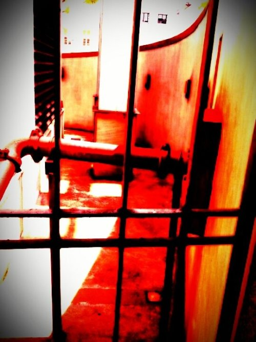 Within the grilles…#2012 #andrography #fotodroids #lomo(from @MonkSter on Streamzoo)