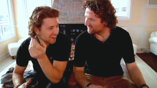 Claude Giroux and Scott Hartnell, Philadelphia Flyers.