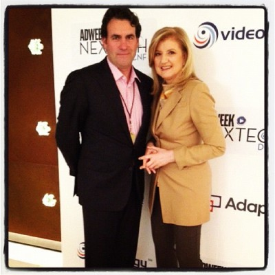 With @adweek executive editor James Cooper @jcoopernyc (via @ariannahuff) (Taken with instagram)
