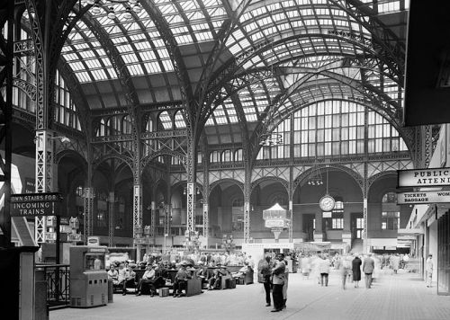 Pennsylvania Station interior, NYC Demolished 1963 5.1.12