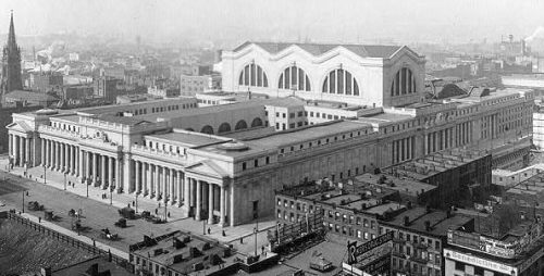 Pennsylvania Station, NYC - Early twentieth century McKim, Mead & White - Architects - built 1906 - 1910 Tragically Demolished in 1963 5.1.12