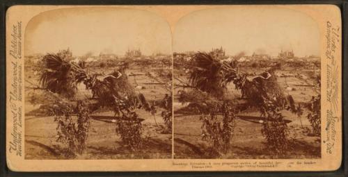 "Here is a stereoscopic photograph from the NYPL Digital Gallery of Galveston after the hurricane in 1900. This particular photo is captioned, ""A once prosperous section of beautiful homes near the beach"". The Galveston Hurricane is the deadliest hurricane in U.S. history, as at that time, Galveston was the largest city in Texas. Jesmyn Ward, author of last year's National Book Award winner Salvage the Bones, has remarked that every generation has its storm. Ward's is Hurricane Katrina, which she lived through in Mississippi with her family. She also used Katrina as the main catalyst for writing Salvage the Bones, which follows a family in the days leading up to the storm. Tonight, Ward will take to the LIVE stage to talk about this personal experience, how it effects one's writing, and how easy it is for the common conscious to forget about such events. Tickets are still available, and if you enter the discount code ""FAMILY"" at checkout, you'll receive 40% off. Learn more and purchase tickets here…"