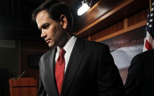 Spanish speaking Dork  redalertpolitics:  Rubio's balancing act on immigration