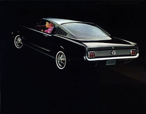vs-design:  1965 Ford Mustang Fastback