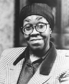 "alivesoul:  On This Day…. In 1950 Gwendolyn Brooks won the Pulitzer Prize for Poetry Although she was born on 7 June 1917 in Topeka, Kansas—the first child of David and Keziah Brooks—Gwendolyn Brooks is ""a Chicagoan."" The family moved to Chicago shortly after her birth, and despite her extensive travels and periods in some of the major universities of the country, she has remained associated with the city's South Side. What her strong family unit lacked in material wealth was made bearable by the wealth of human capital that resulted from warm interpersonal relationships. When she writes about families that—despite their daily adversities—are not dysfunctional, Gwendolyn Brooks writes from an intimate knowledge reinforced by her own life. Brooks attended Hyde Park High School, the leading white high school in the city, but transferred to the all-black Wendell Phillips, then to the integrated Englewood High School. In 1936 she graduated from Wilson Junior College. These four schools gave her a perspective on racial dynamics in the city that continues to influence her work. Her profound interest in poetry informed much of her early life. ""Eventide,"" her first poem, was published in American Childhood Magazine in 1930. A few years later she met James Weldon Johnson and Langston Hughes, who urged her to read modern poetry—especially the work of Ezra Pound, T. S. Eliot, and e. c. cummings—and who emphasized the need to write as much and as frequently as she possibly could. By 1934 Brooks had become an adjunct member of the staff of the Chicago Defender and had published almost one hundred of her poems in a weekly poetry column. In 1938 she married Henry Blakely and moved to a kitchenette apartment on Chicago's South Side. Between the birth of her first child, Henry, Jr., in 1940 and the birth of Nora in 1951, she became associated with the group of writers involved in Harriet Monroe's still-extant Poetry: A Magazine of Verse. From this group she received further encouragement, and by 1943 she had won the Midwestern Writers Conference Poetry Award. In 1945 her first book of poetry, A Street in Bronzeville (published by Harper and Row), brought her instant critical acclaim. She was selected one of Mademoiselle magazine's ""Ten Young Women of the Year,"" she won her first Guggenheim Fellowship, and she became a fellow of the American Academy of Arts and Letters. Her second book of poems, Annie Allen (1949), won Poetry magazine's Eunice Tietjens Prize. In 1950 Gwendolyn Brooks became the first African American to win a Pulitzer Prize. From that time to the present, she has seen the recipient of a number of awards, fellowships, and honorary degrees usually designated as Doctor of Humane Letters. President John Kennedy invited her to read at a Library of Congress poetry festival in 1962. In 1985 she was appointed poetry consultant to the Library of Congress. Just as receiving a Pulitzer Prize for poetry marked a milestone in her career, so also did her selection by the National Endowment for the Humanities as the 1994 Jefferson Lecturer, the highest award in the humanities given by the federal government. Her first teaching job was a poetry workshop at Columbia College (Chicago) in 1963. She went on to teach creative writing at a number of institutions including Northeastern Illinois University, Elmhurst College, Columbia University, Clay College of New York, and the University of Wisconsin. A turning point in her career came in 1967 when she attended the Fisk University Second Black Writers' Conference and decided to become more involved in the Black Arts movement. Read More Bio by Modern American Poetry Photo: Public Domain"