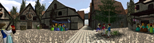 Ocarina of Time- Castle Town Market