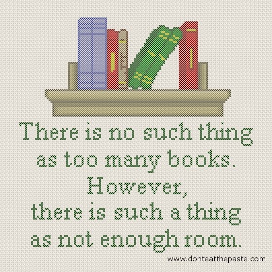 "booksdirect:  ""There is no such thing as too many books … """