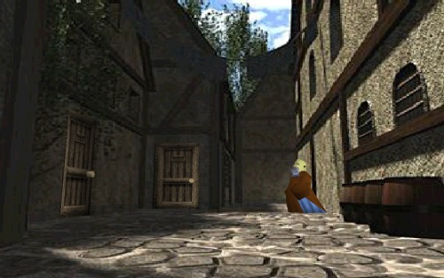 Ocarina of Time- Castle Town Back Alley