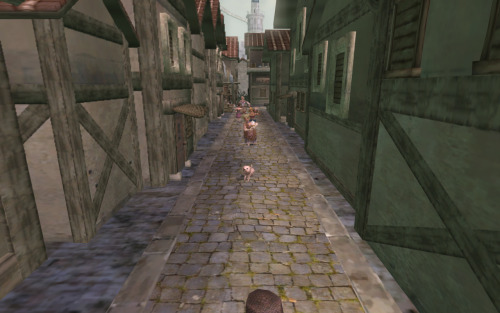 Twilight Princess- Castle Town East Road