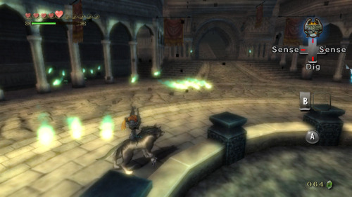 Twilight Princess- Castle Town Central Square in Twilight
