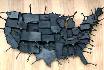 Fry your way through every state with FeLion's Made in America skillets
