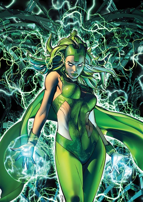 comicbookartwork:  Polaris