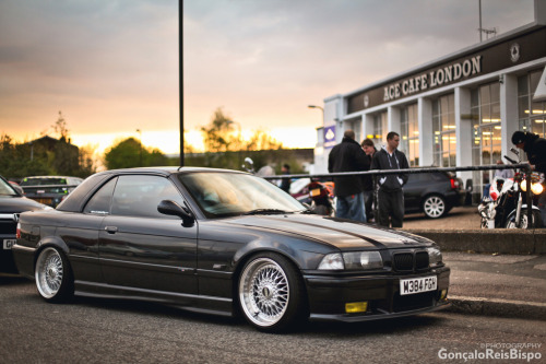 carmonday:  Ace Cafe London BMW M3 E36 Cabrio