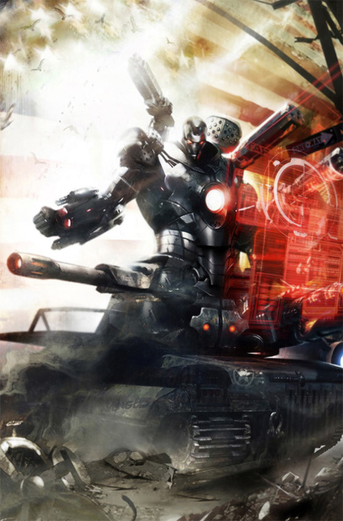 youngman05:  War Machine           By:Francesco Mattina