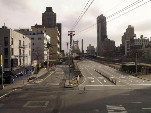 The Queensboro Bridge, devoid of all human activity.  Anyone who has been to New York knows that this shot is almost impossible.  How do they do it?  With a Uber-long exposure through a neutral density filter that removes quicker moving things like humans and cars.  Wow.  We love…this.