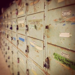 #rustythings #metal #lockers (Taken with instagram)