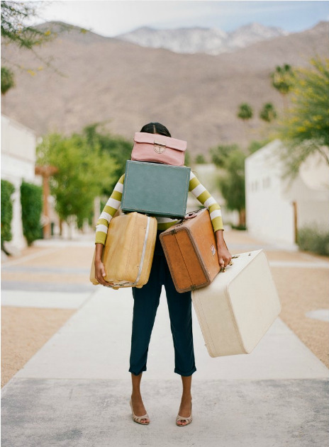 anthropologie:  My three rules for travel: Pack light. Try everything. Always bring a bathing suit. Via: Note To Self