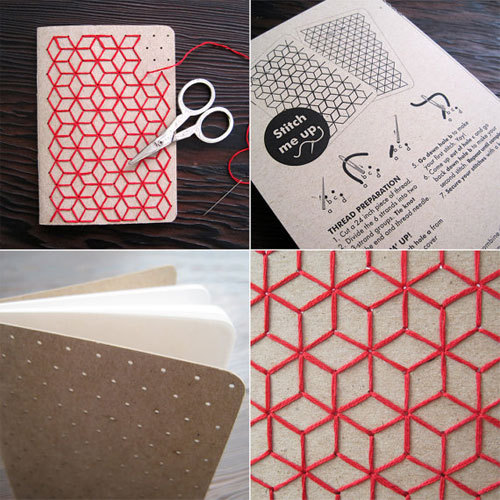 apalelandscape:  (via DIY Geometric Embroidered Notebooks)
