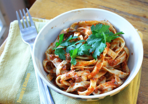 Crockpot Pasta Sauce by Tramie's Kitchen on Flickr.
