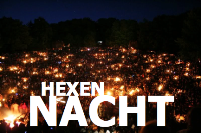 Happy Hexennacht, my fellow European's! For those of you unaware, 30 April is Walpurgis Night, the halfway point to Halloween, and some believe that 30 April is the second most haunted night of the year. In Deutschland we would gather around a bonfire as to ward off the evils and scare off the witches and ultimately to welcome Spring. Back where I lived in Deutschland, all of my friends would gather for a bonfire, barbecuing, and drinking.