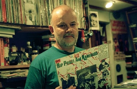 "John Peel's amazing archive is being explored! lovesongsandmonstersongs:  John Peel's entire music collection being made available until October.  Peel's is probably the most celebrated record collection in Britain: 26,000 albums, 40,000 singles and countless CDs, which spread out of Peel's office and took over a variety of rooms and outbuildings in the home near Stowmarket he invariably referred to as Peel Acres. The singles and CDs, Ravenscroft says, were filed alphabetically, but the albums were a different matter. ""They are all filed numerically and cross-referenced with a very old filing cabinet, full of small filing cards that John hand typed himself on his old Olivetti typewriter. The way you access them is that you look in the filing cabinet, find the file card alphabetically, and on the top corner there's a number.""  This is pretty fantastic..and I highly, HIGHLY recommend you stay tuned every week. http://www.guardian.co.uk/music/2012/may/01/john-peel-record-collection-online"