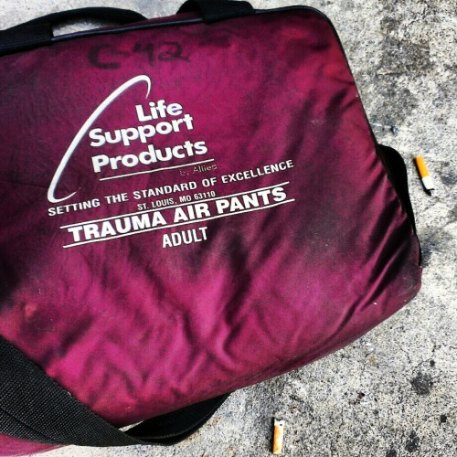 Who throws out a perfectly good pair of Trauma Air Pants? Wait…what are Trauma Air Pants?
