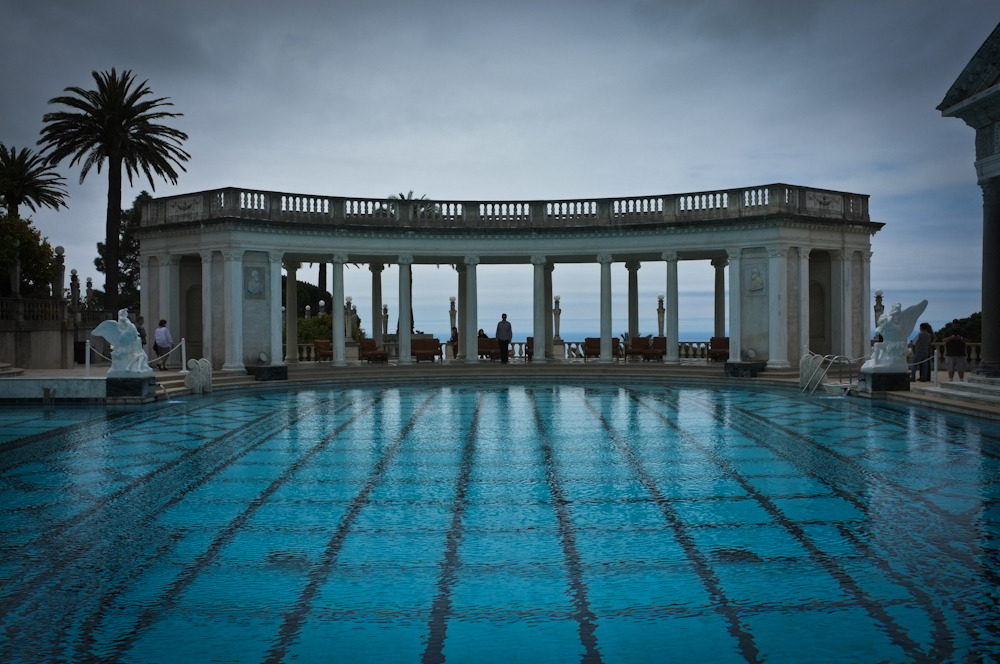 Self portrait, Hearst Castle again.