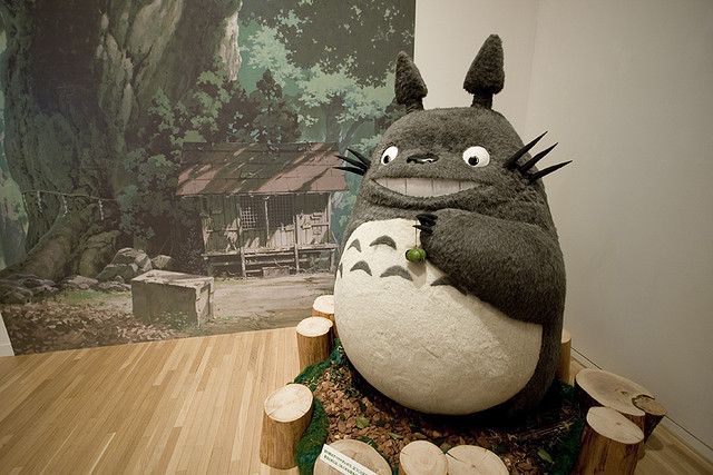 esobvio:  Totoro by Nomadic nao on Flickr.
