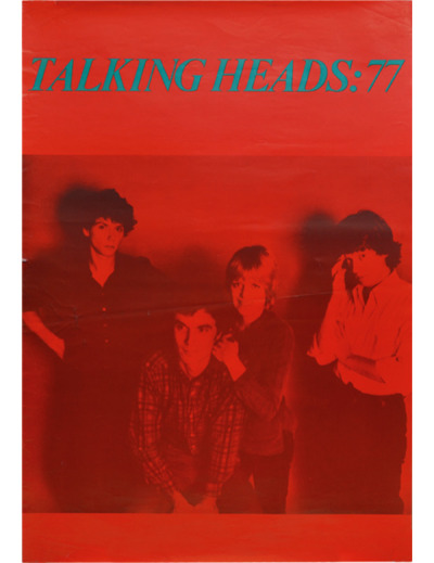 zombiesenelghetto:  Talking Heads: tour poster for the band's first UK tour 1977