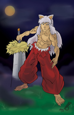 My dude Inuyasha and all his beastness