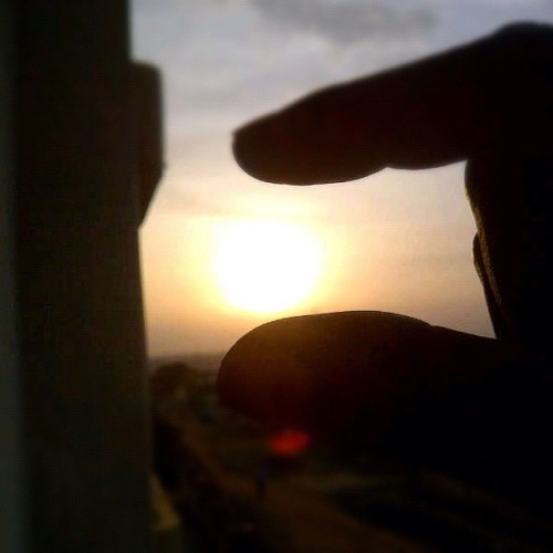 Time check 17:55 ok bye bye sun! #squish !! (Taken with instagram)
