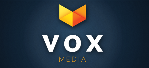 We love Vox Media for 3 reasons. People thinking outside the box, quality content, and their logos.