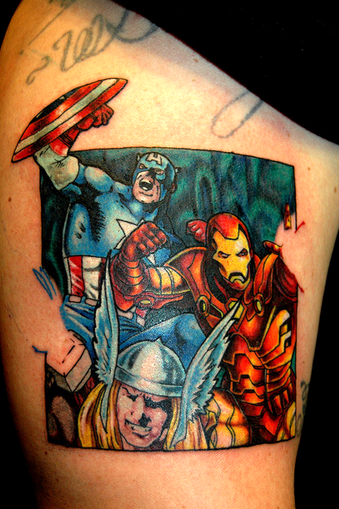 Tattoo Tuesday- Avengers
