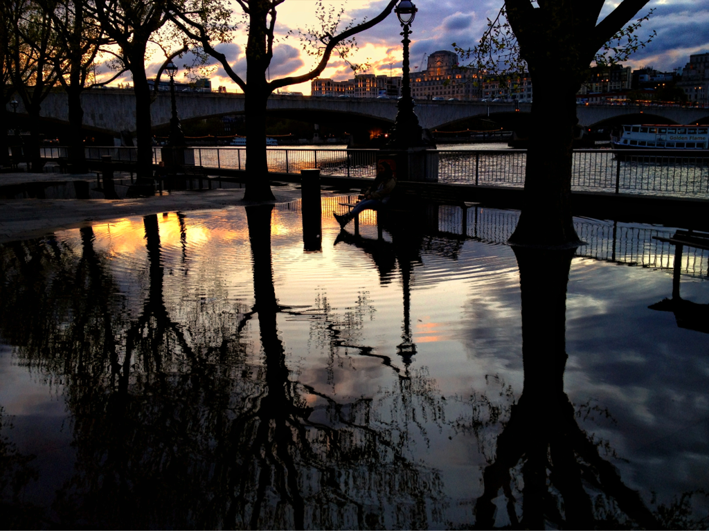 """South Bank Reflections"" (Belvedere Road, South Bank)"