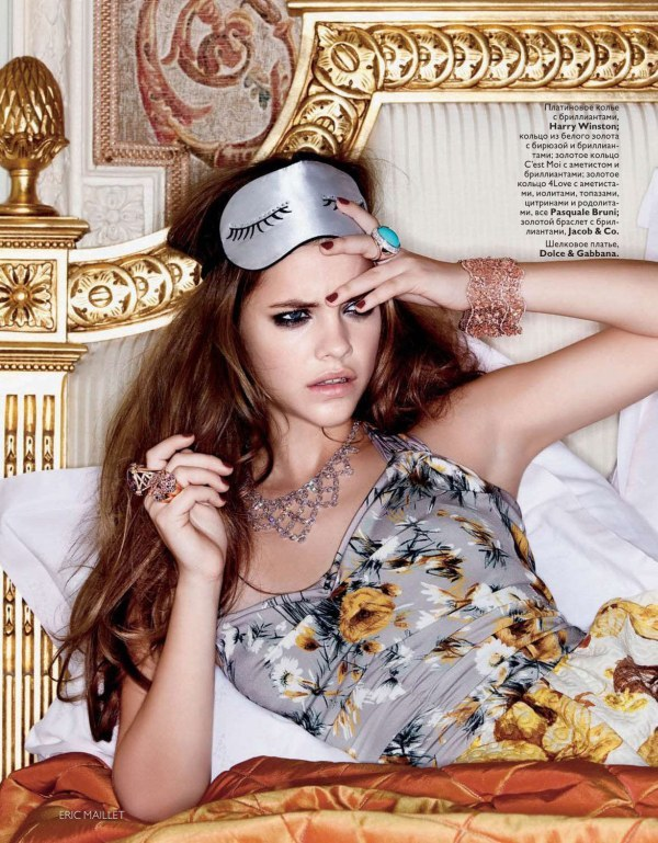 Tuesdays Are Hard - Barbara Palvin for Vogue Russia