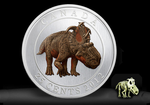 Canada has a glow-in-the-dark dinosaur coin. Is the Canadian mint full of 10 year old boys?