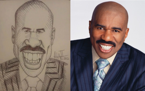 Steve Harvey Caricature