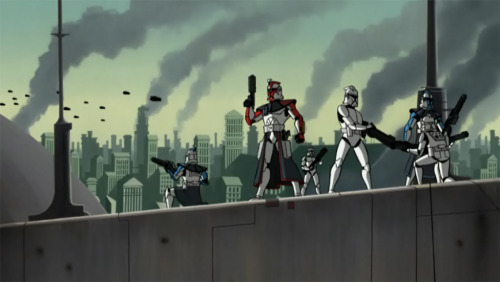 flannelephant:  Clone Wars (2003) was such a good series. I feel like it wasn't as popular as it should have been.
