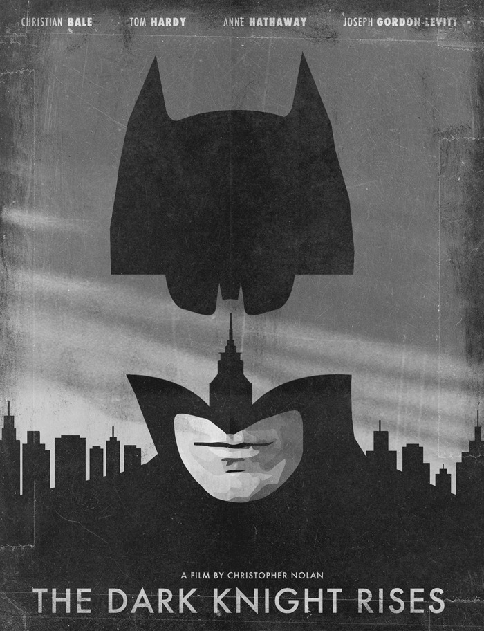 minimalmovieposters:  The Dark Knight Rises by Jonas Ståhl