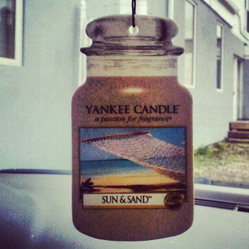 Favfavfav #sun&sand #yankeecandle (Taken with instagram)