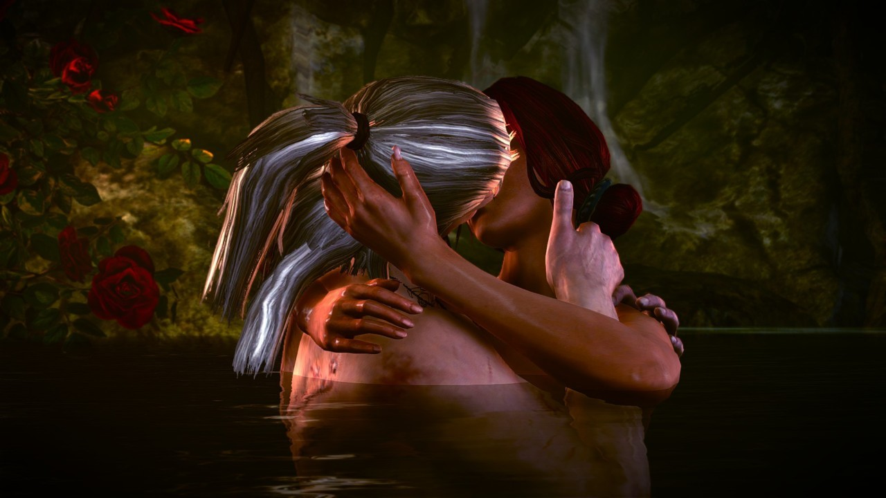 Tender moments in The Witcher 2