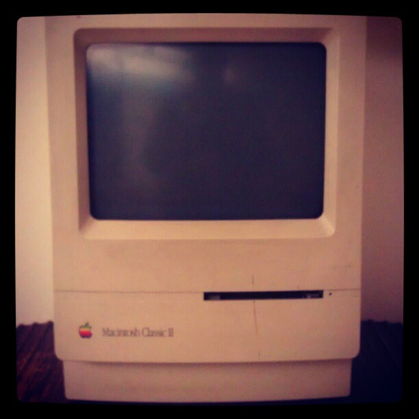We've come so far in no time at all. #Apple (Taken with instagram)