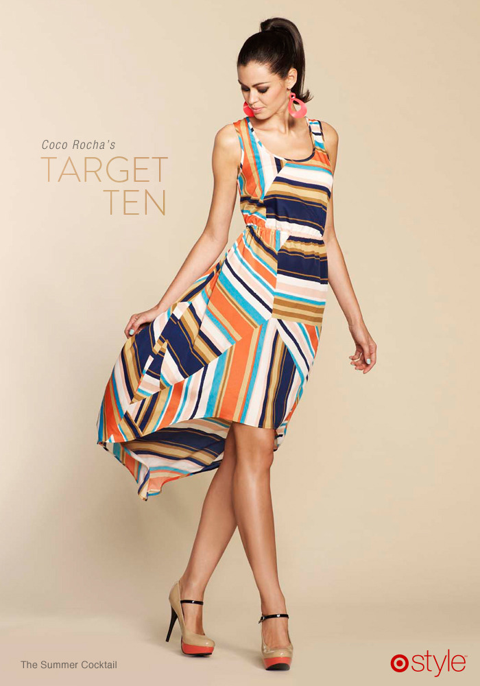 Coco Rocha's Target 10: The Summer Cocktail own it: shop outfit in store.