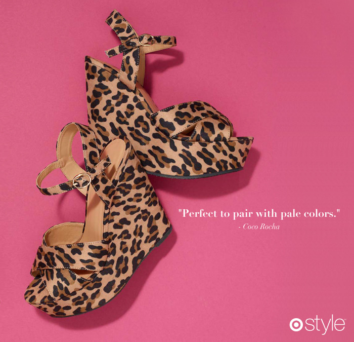 Coco Rocha's Must Haves own it: The Print Shoe.
