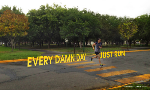 EVERY DAMN DAY…JUST RUN