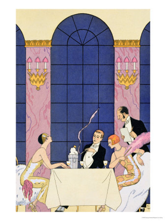 Georges Barbier, The Gourmands