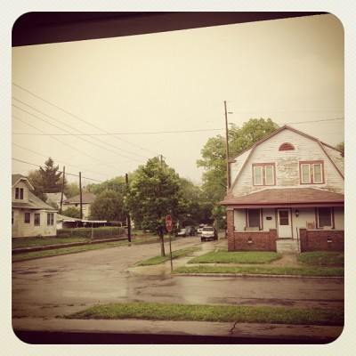 Sittin on the porch watching the storm #midwestpasttimes (Taken with instagram)